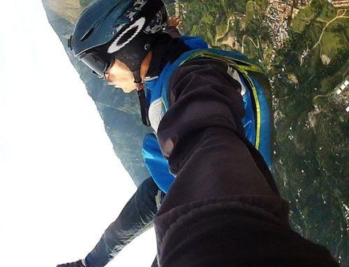 Salto Base desde Parapente Edison Valencia
