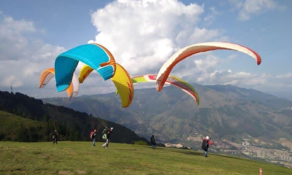aprender a volar cursos parapente