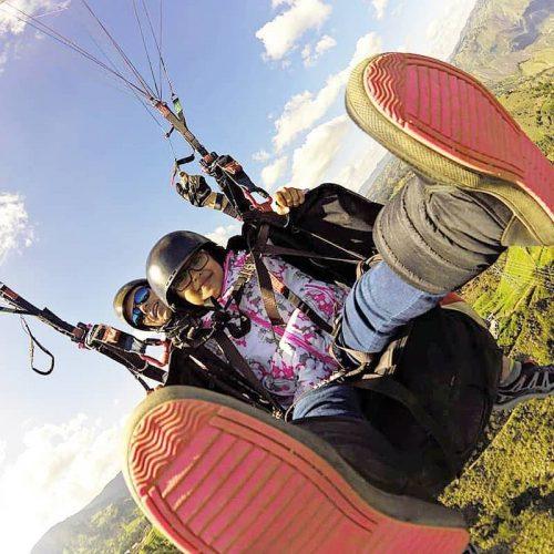 Parapente en Ventaquemada Boyacá